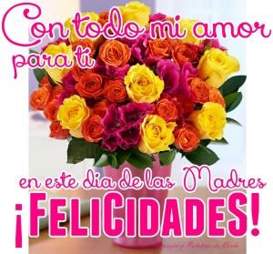 Feliz día a todas las madres.
