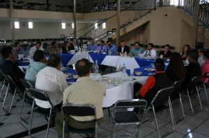 COPARMEX Capilla de Guadalupe recivio al director Estatal de CECYTEJ.