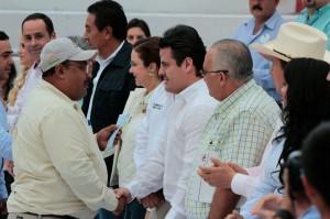 Visito Gobernador San Miguel el Alto.