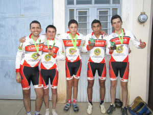 Club de Ciclismo Liebres de Capilla realizaron excelente puntage en el Bosque de la primavera
