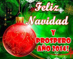 Feliz Navidad y Prospero Año 2014