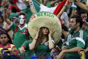 Mundial Brasil 2014 - Afición Mexicana