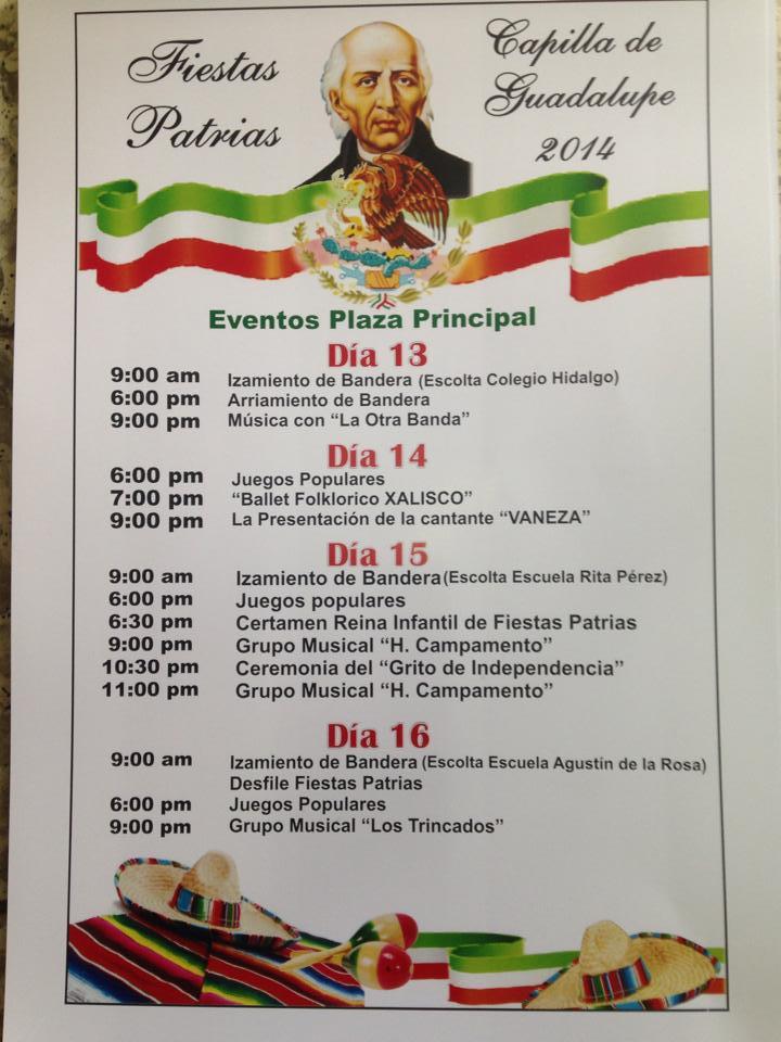 Fiestas Patrias 2014 - Eventos Plaza