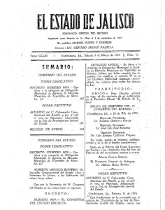 Periódico Agencia-Delegación Mezcala 1974