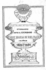 Bisabuelo Juan Rulfo Escribano de Tepatitlán 2