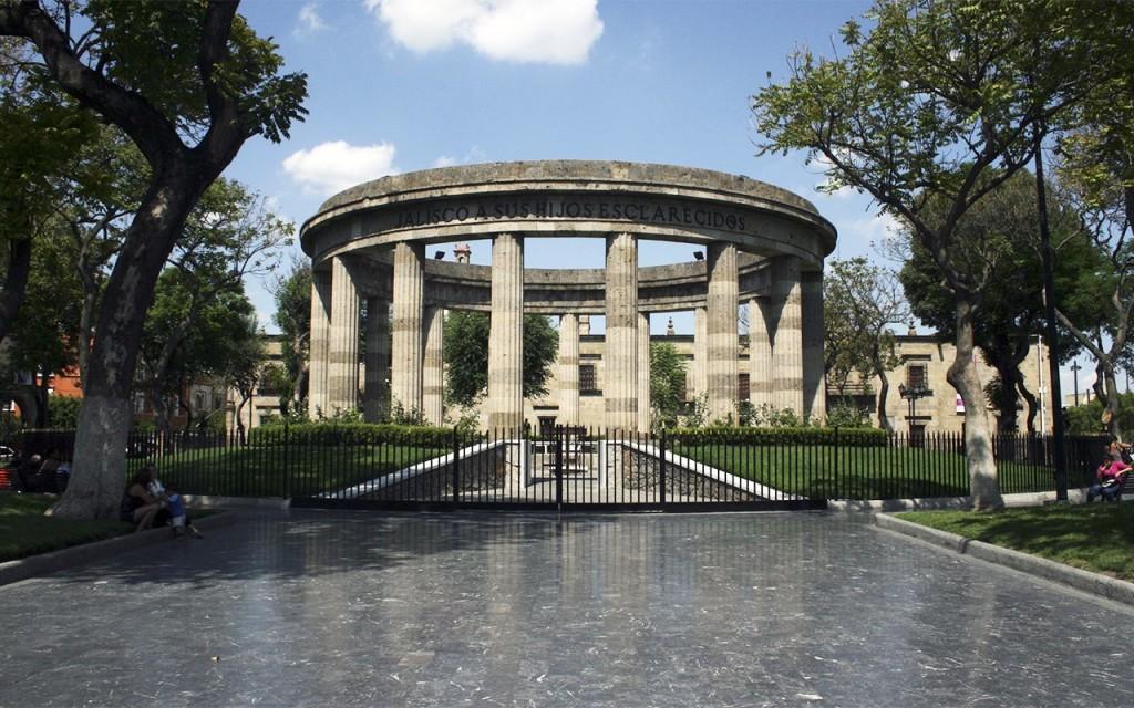 Rotonda de los Hombres Ilustres. Guadalajara, Jalisco